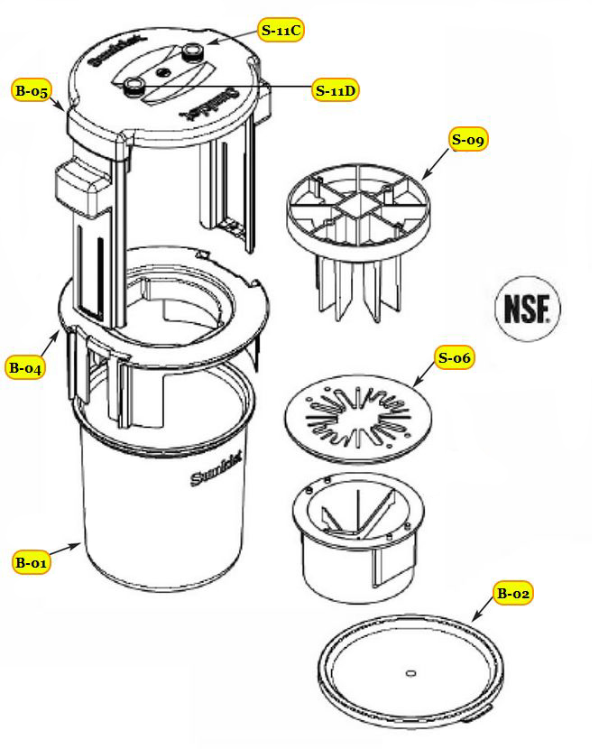 Pro Sectionizer Parts