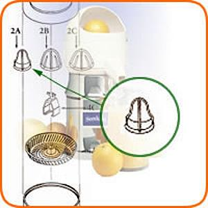 Commercial Juicer Extracting Bulb